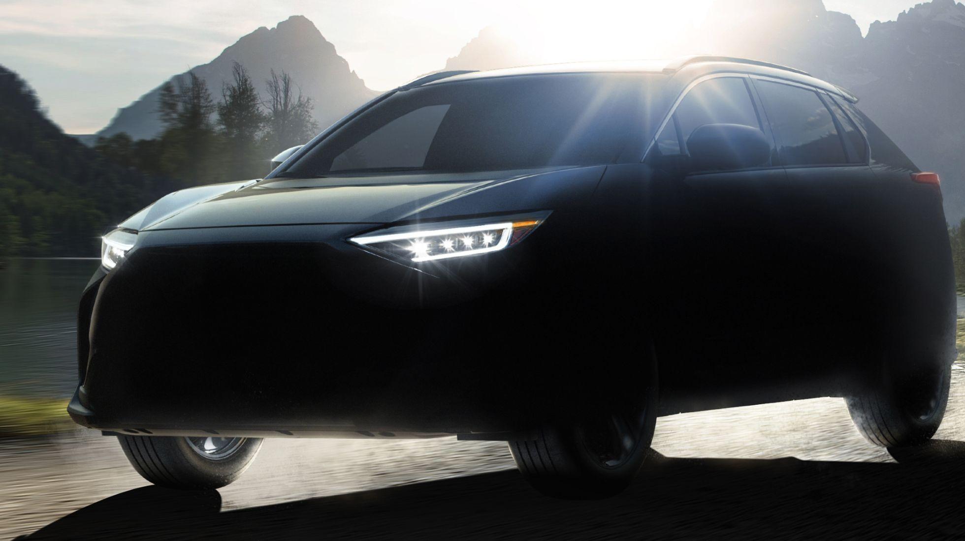 Subaru Reveals all-electric 'Solterra'
