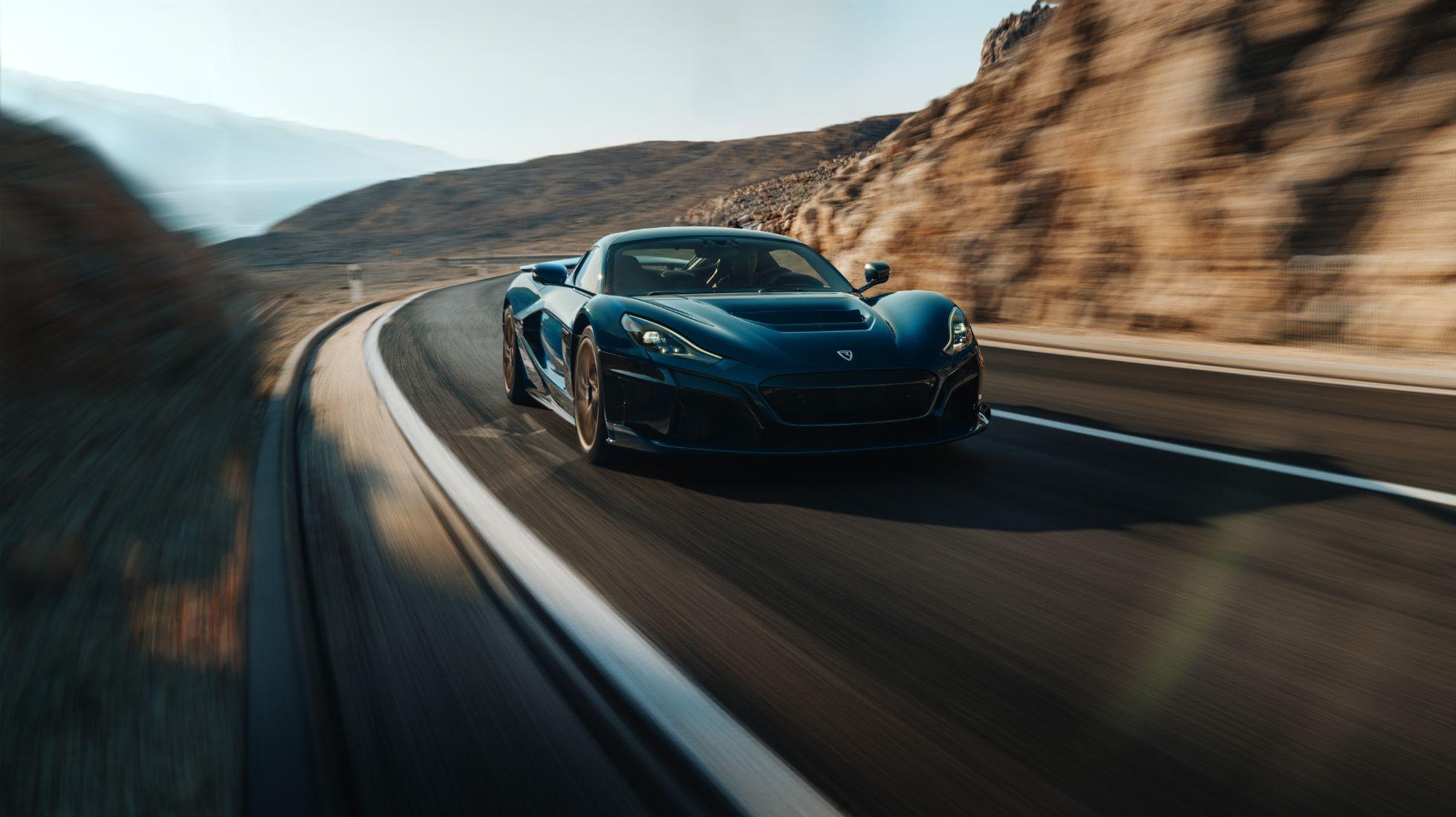 Rimac Nevera EV hypercar unveiled