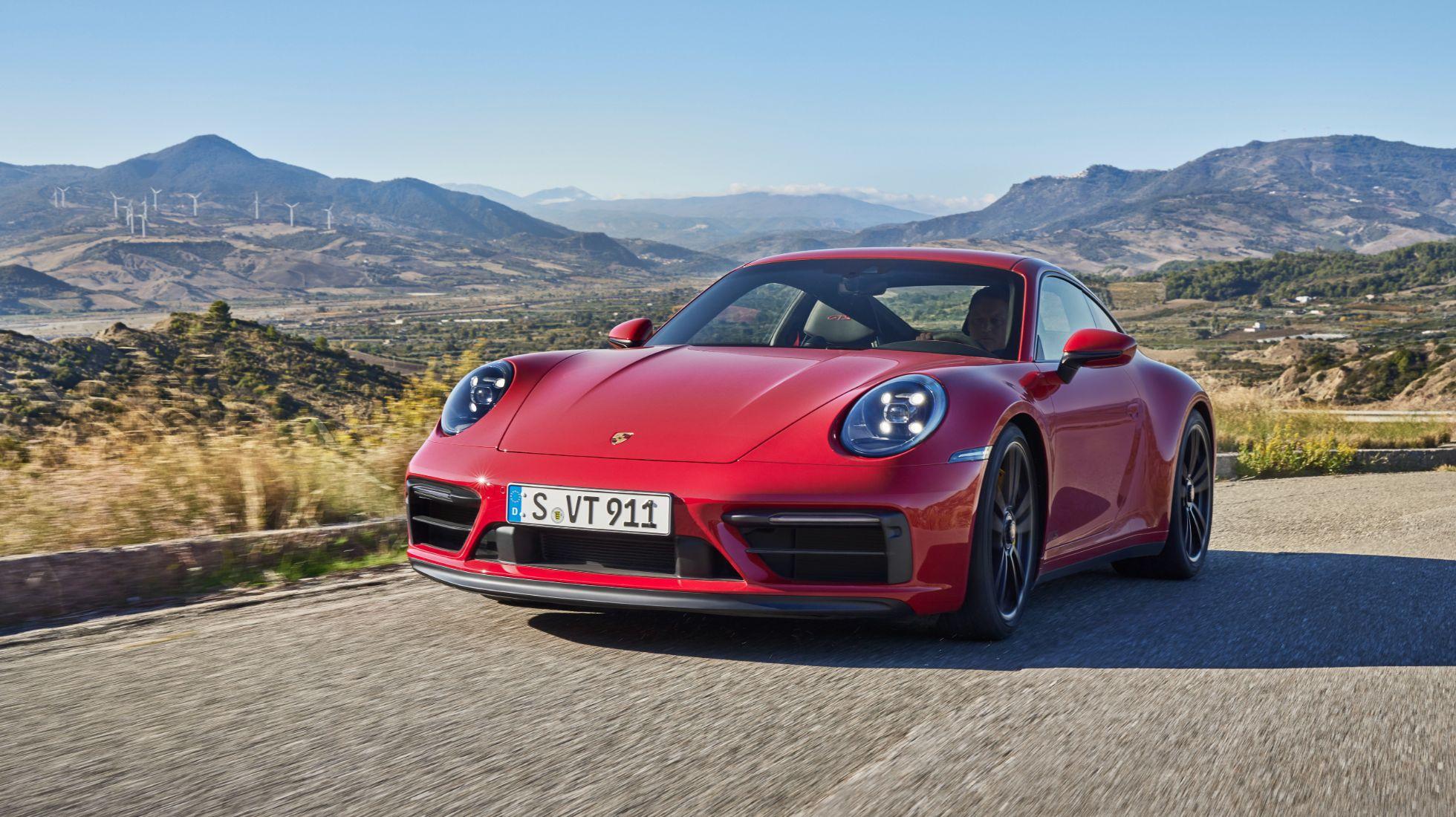 Porsche's 911 range has now been bolstered with GTS variants