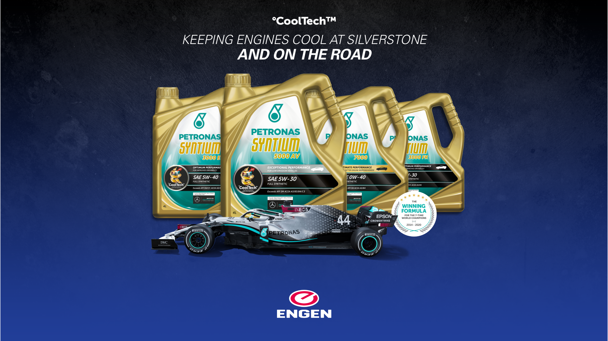 ADVERTORIAL: Give your car the winning performance of the Mercedes-AMG Formula One team