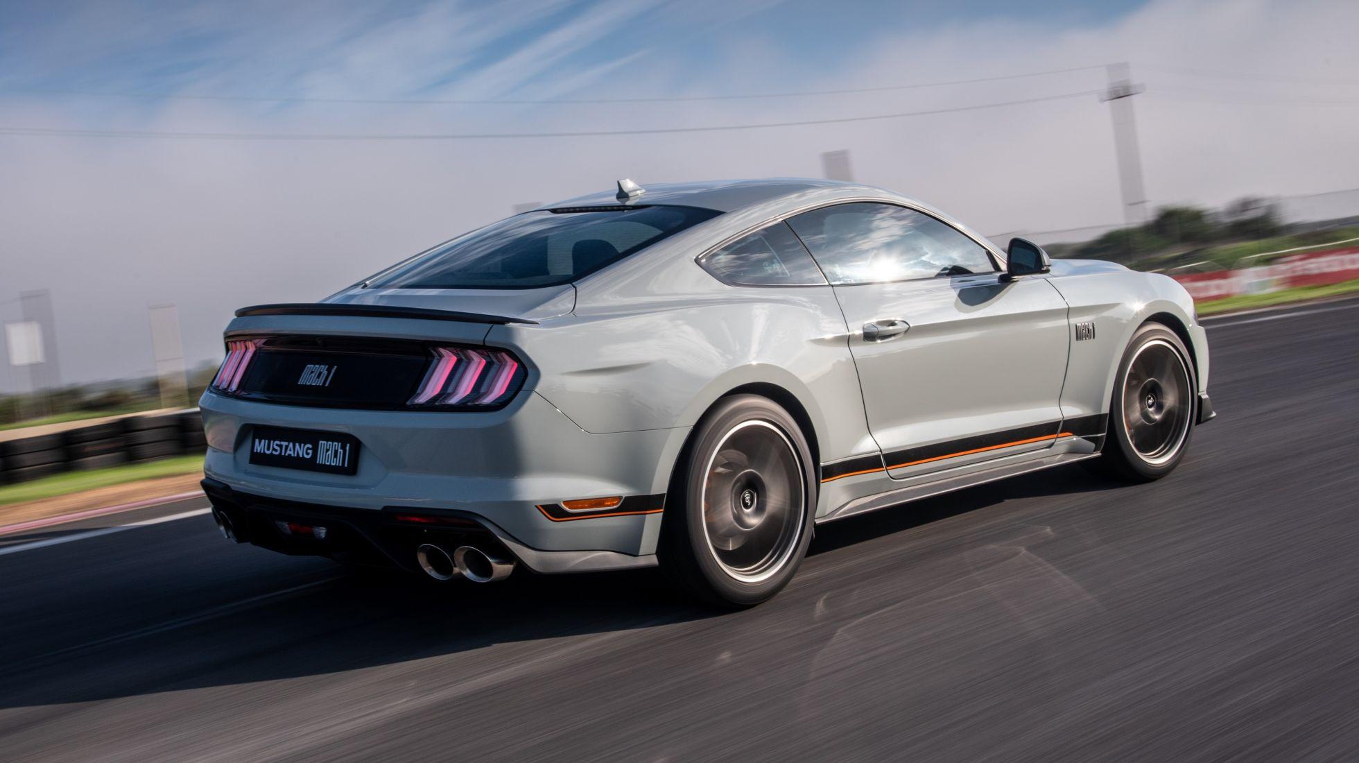 DRIVEN: Mustang Mach 1 5.0 V8 10AT