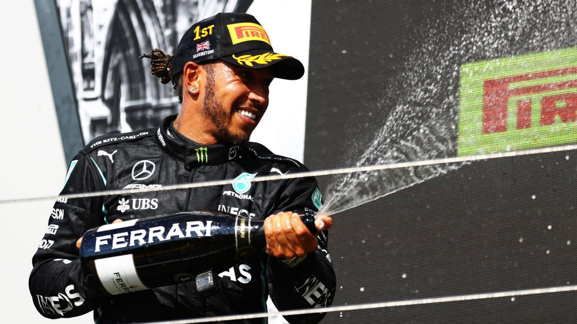 Hamilton wins his Home GP in the most controversial circumstances