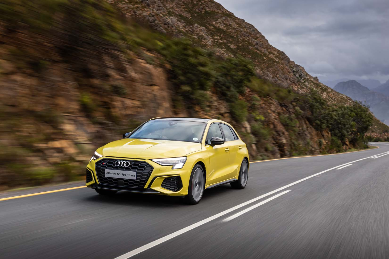 The new Audi A3 is here. Well, almost