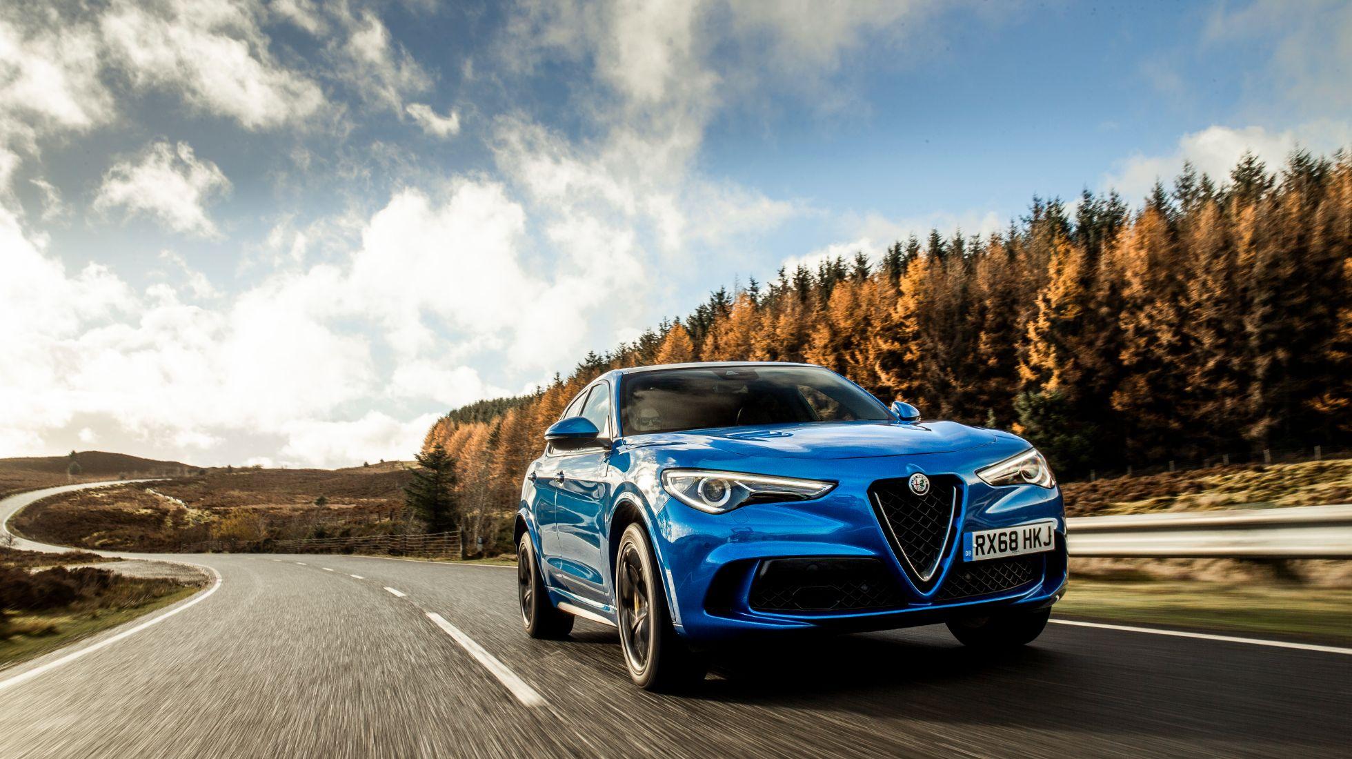 Alfa Romeo Stelvio Q warrants more showroom queues