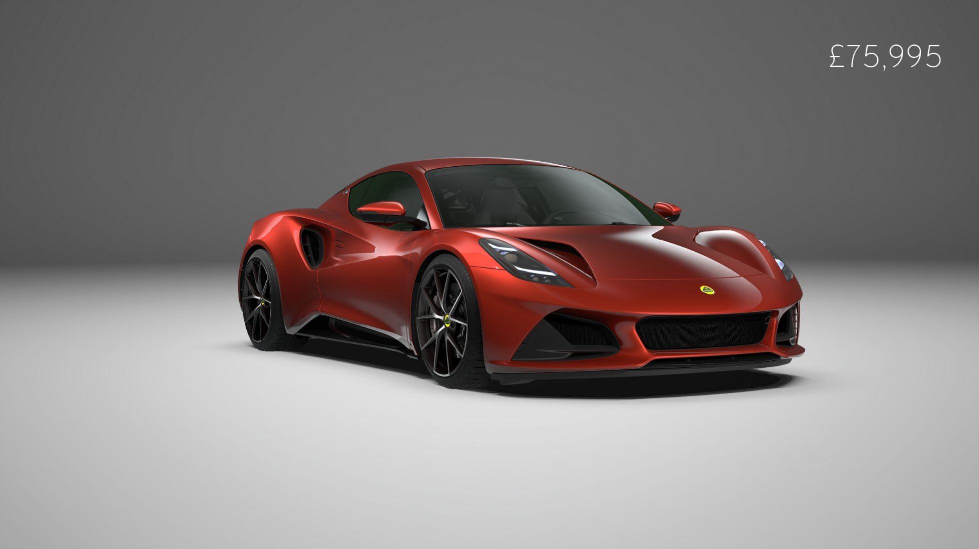 Lotus Emira spec and price unveiled