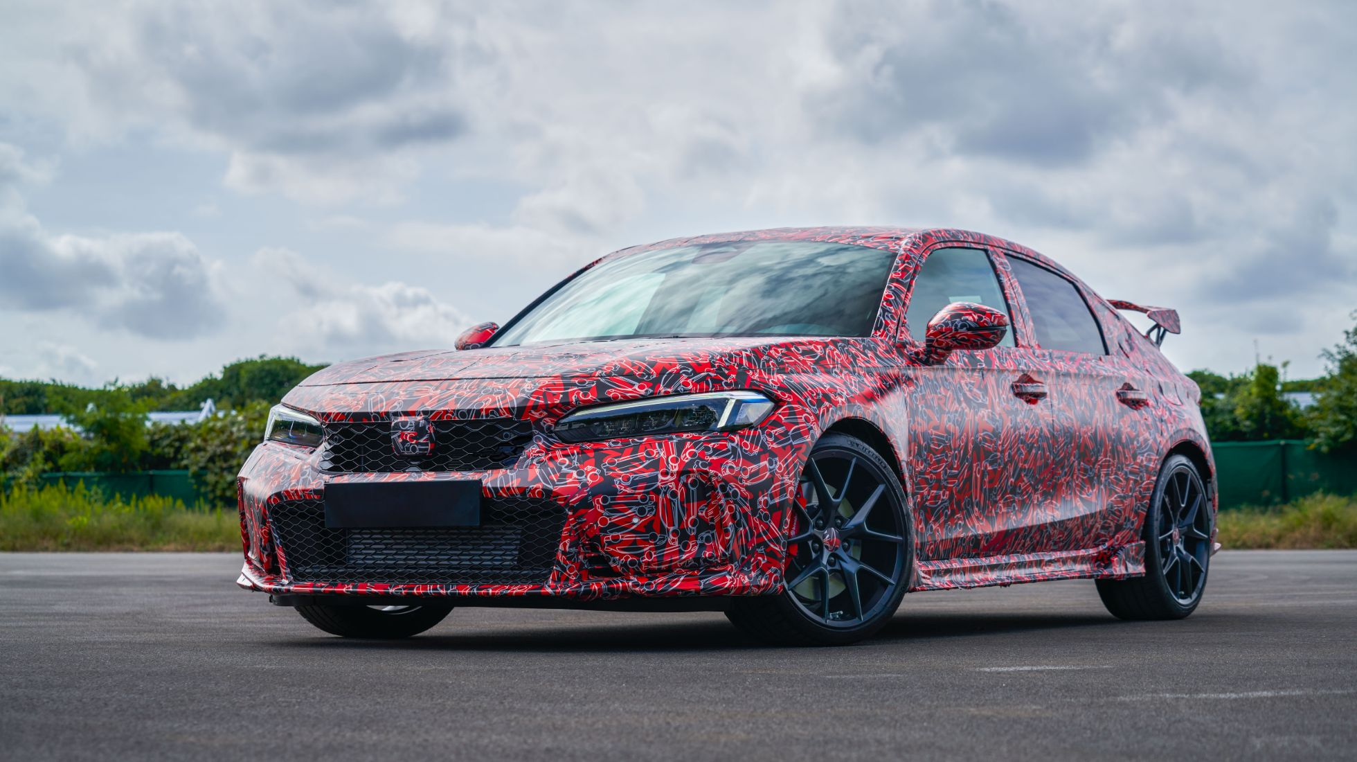 Honda Civic Type R ready to flex its muscles