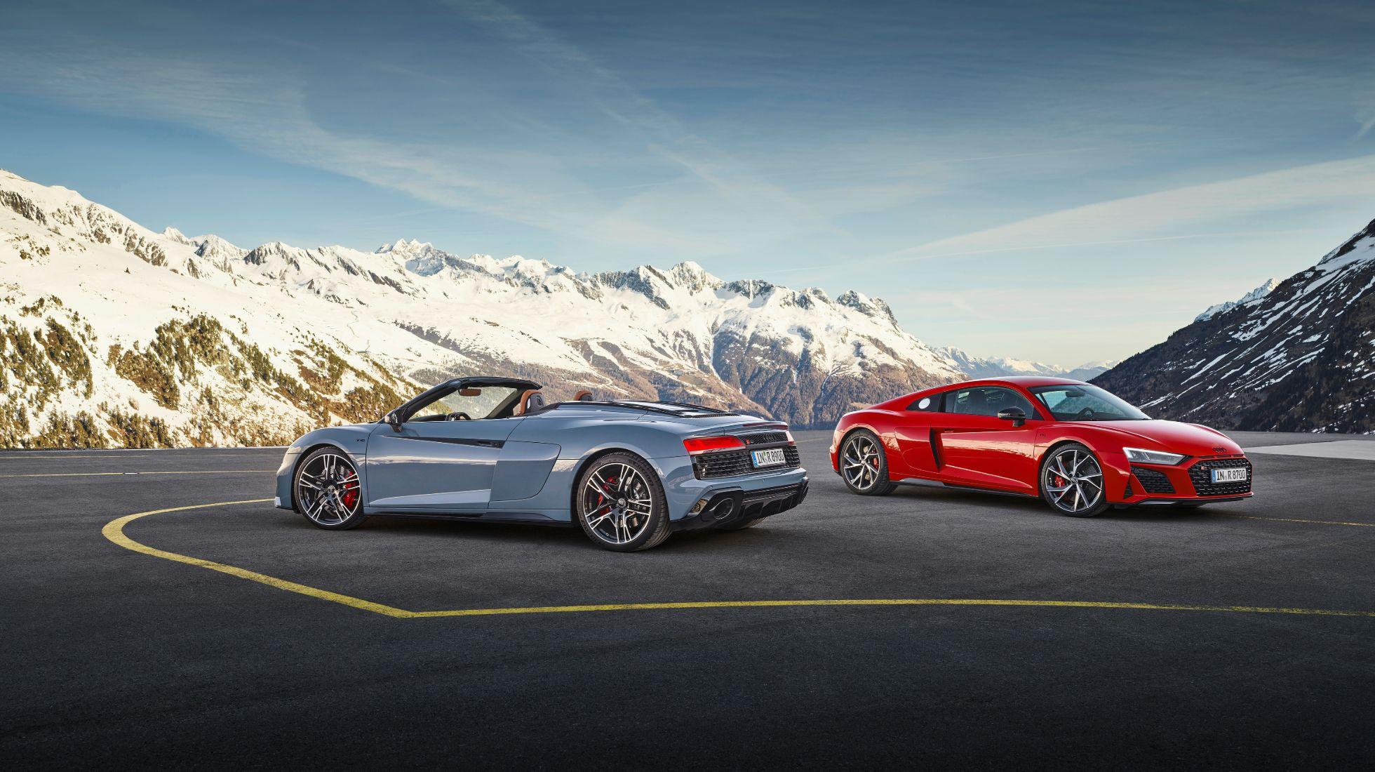 Audi R8 RWD announced