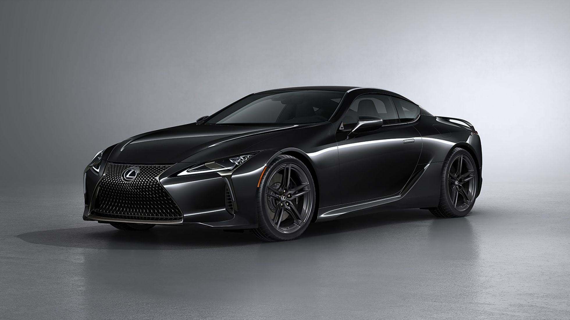 Lexus brings Black Inspiration pack to its LC, ditches its chrome