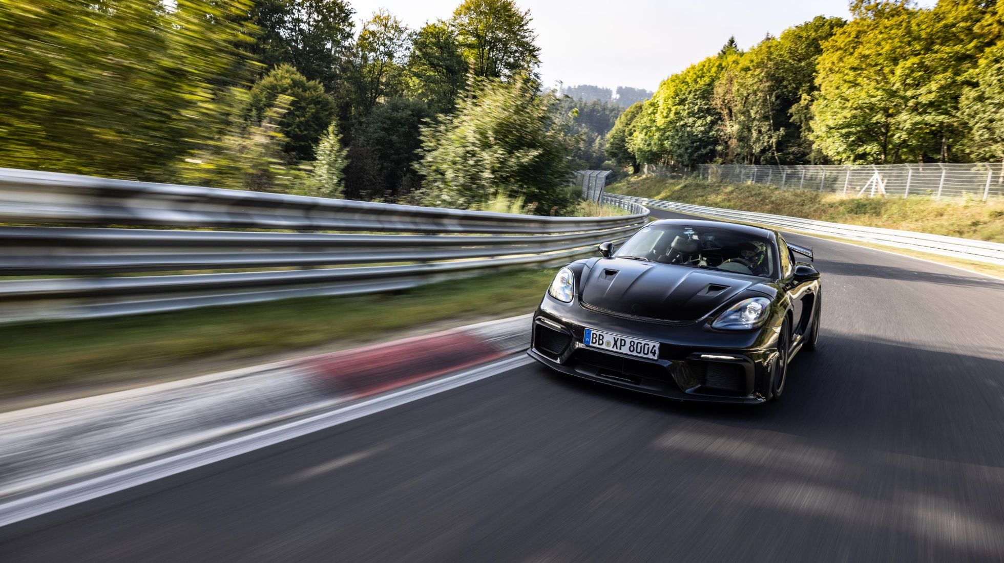 Porsche is fine-tuning its Cayman GT4 RS
