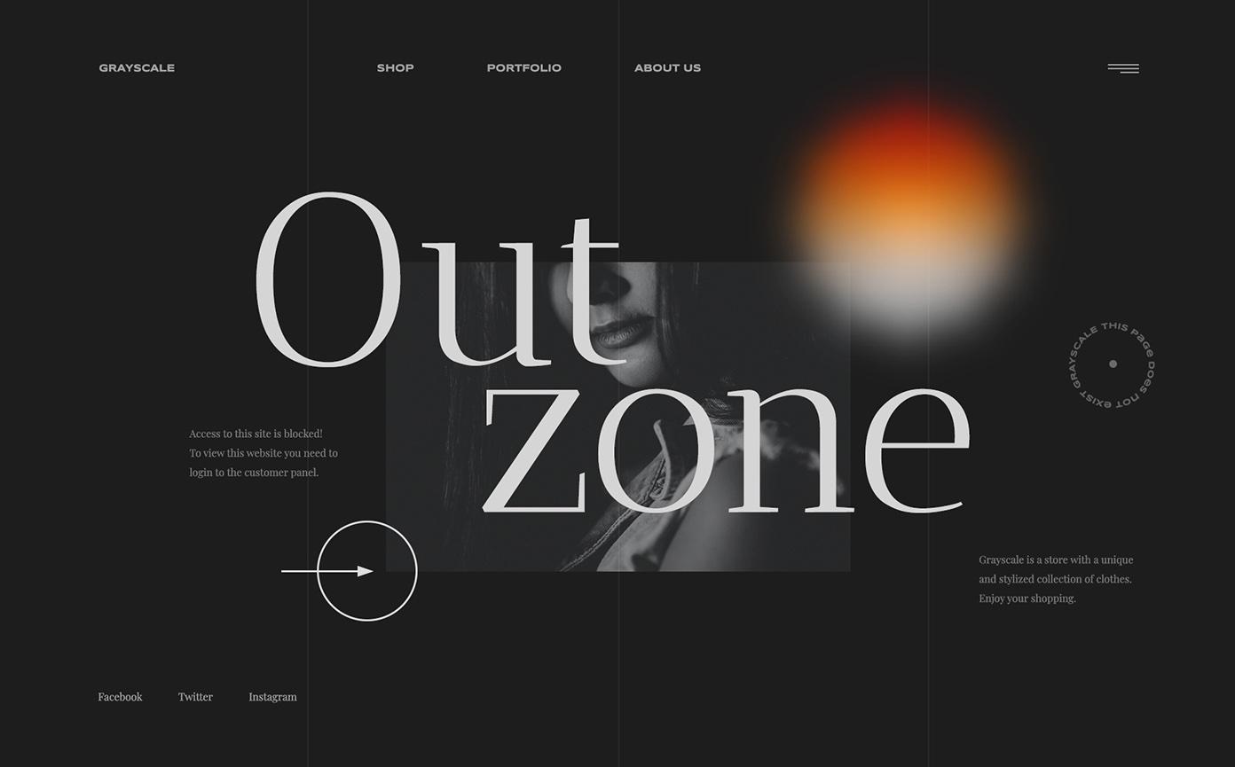 maquette de site web webflow okama
