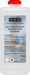 Desinfetante de Mãos em Gel 300ML
