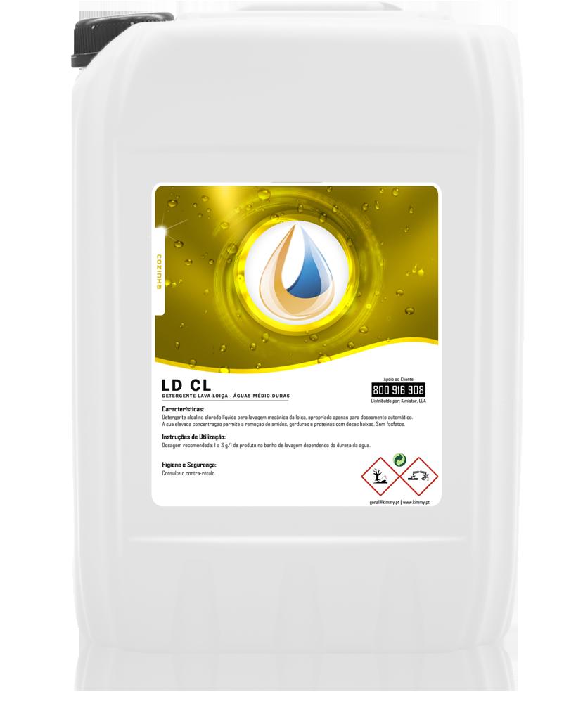 Detergente Lava-Loiça (Águas Médio-Duras)