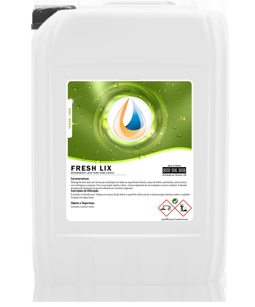 Detergente Lava-Tudo com Lixívia