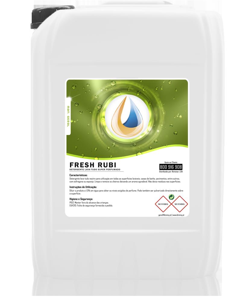 Detergente Lava-Tudo Super Perfumado (Rubi)