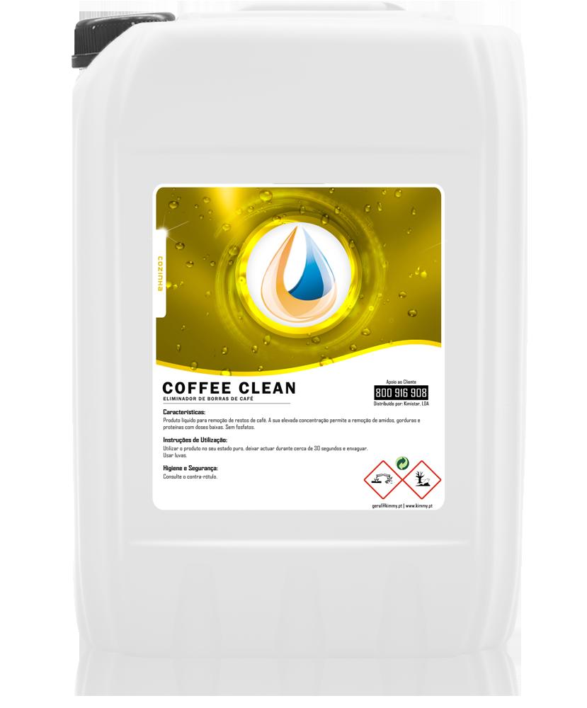 Detergente Eliminador de Borras de Café