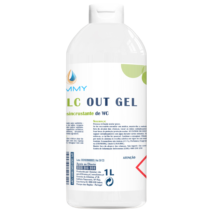 Kalc Out Gel - Gel Desincrustante de WC