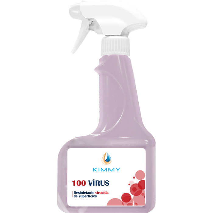 100 Vírus - Desinfetante Virucida de Superfícies