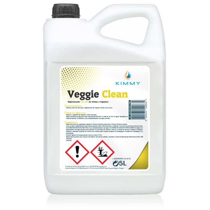 Veggie Clean - Higienizante Clorado de Frutas e Legumes