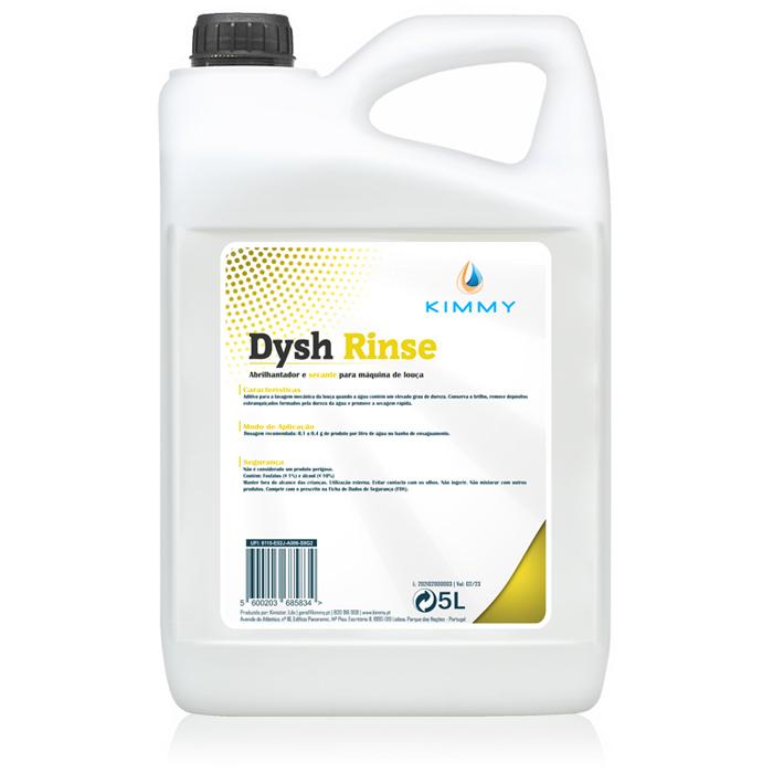 Dysh Rinse - Abrilhantador & Secante para Louça