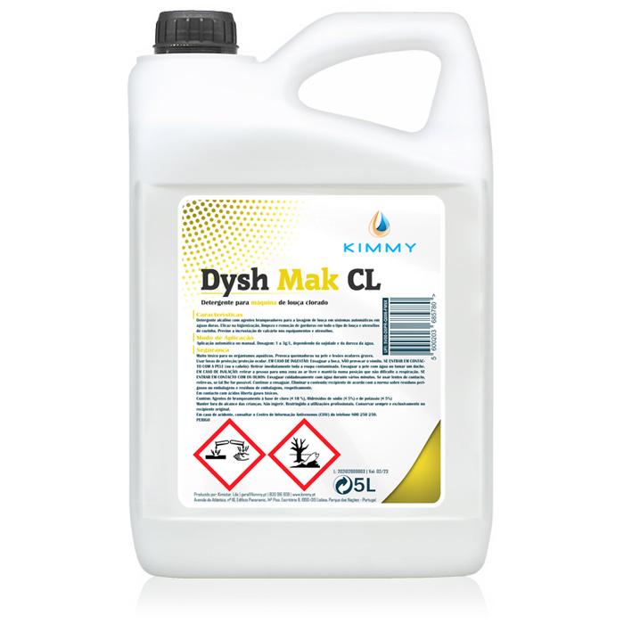 Dysh Mak CL - Detergente Clorado para Máquina de Louça