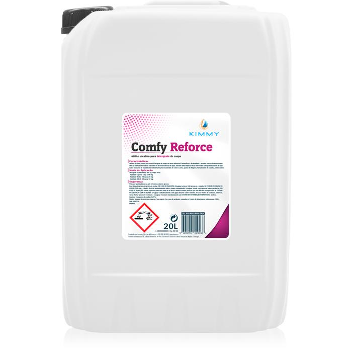 Comfy Reforce - Aditivo Alcalino para Detergente de Roupa