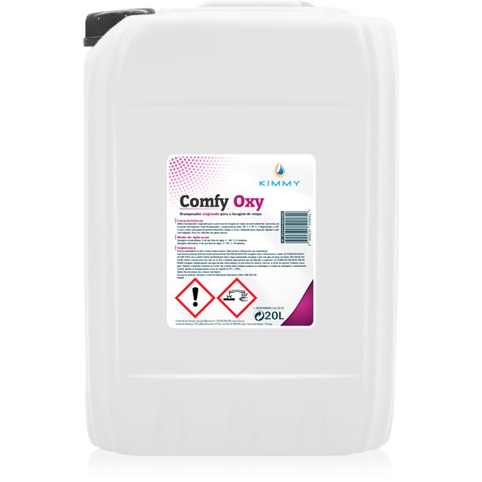 Comfy Oxy - Branqueador Oxigenado para Lavagem de Roupa