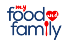 My Food and Family recipes partner logo