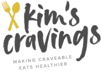 Kim's Cravings recipes partner logo