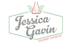 Jessica Gavin recipes partner logo