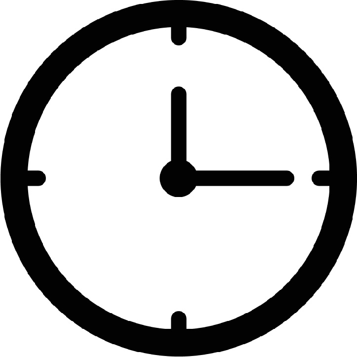 A small clock image.