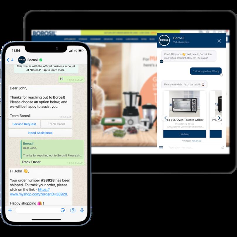 Chatbot for eCommerce Konverse AI