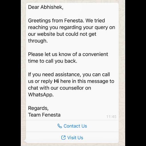 Call to Action WhatsApp Template Konverse AI