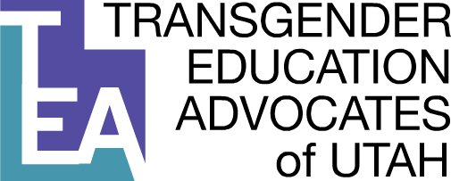 Transgender Education Advocates of Utah Logo.