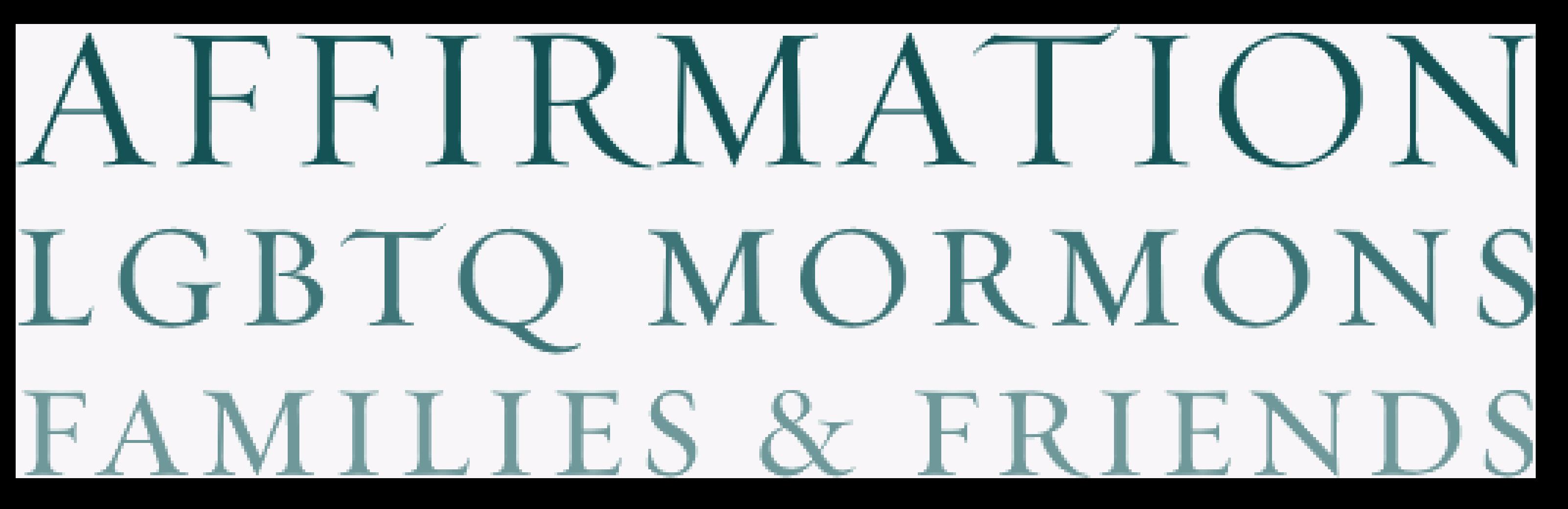 Affirmation LGBTQ Mormons Logo.