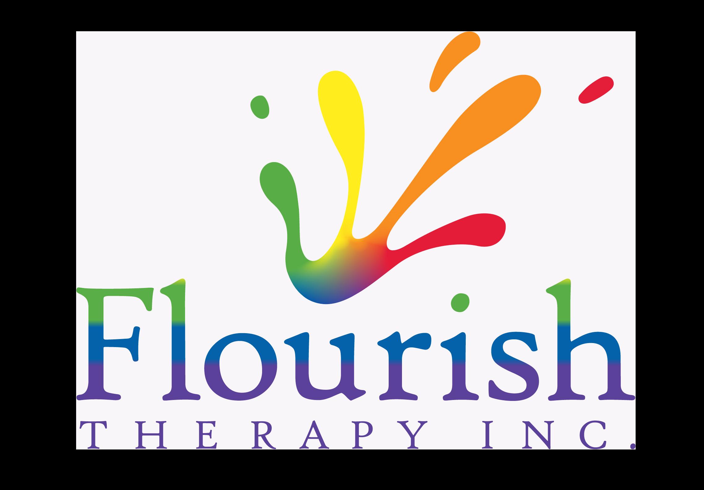 Flourish Therapy Logo.