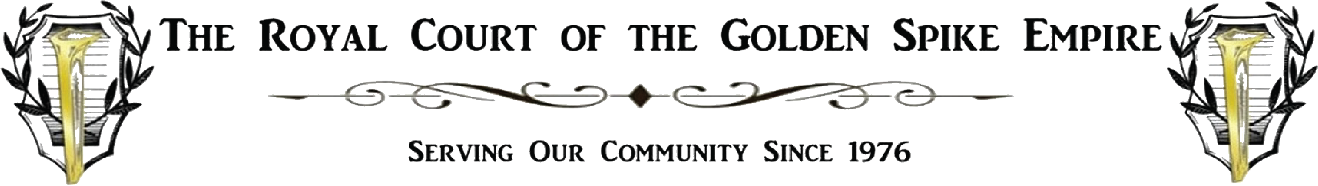 Royal Court of the Golden Spike Empire Logo.