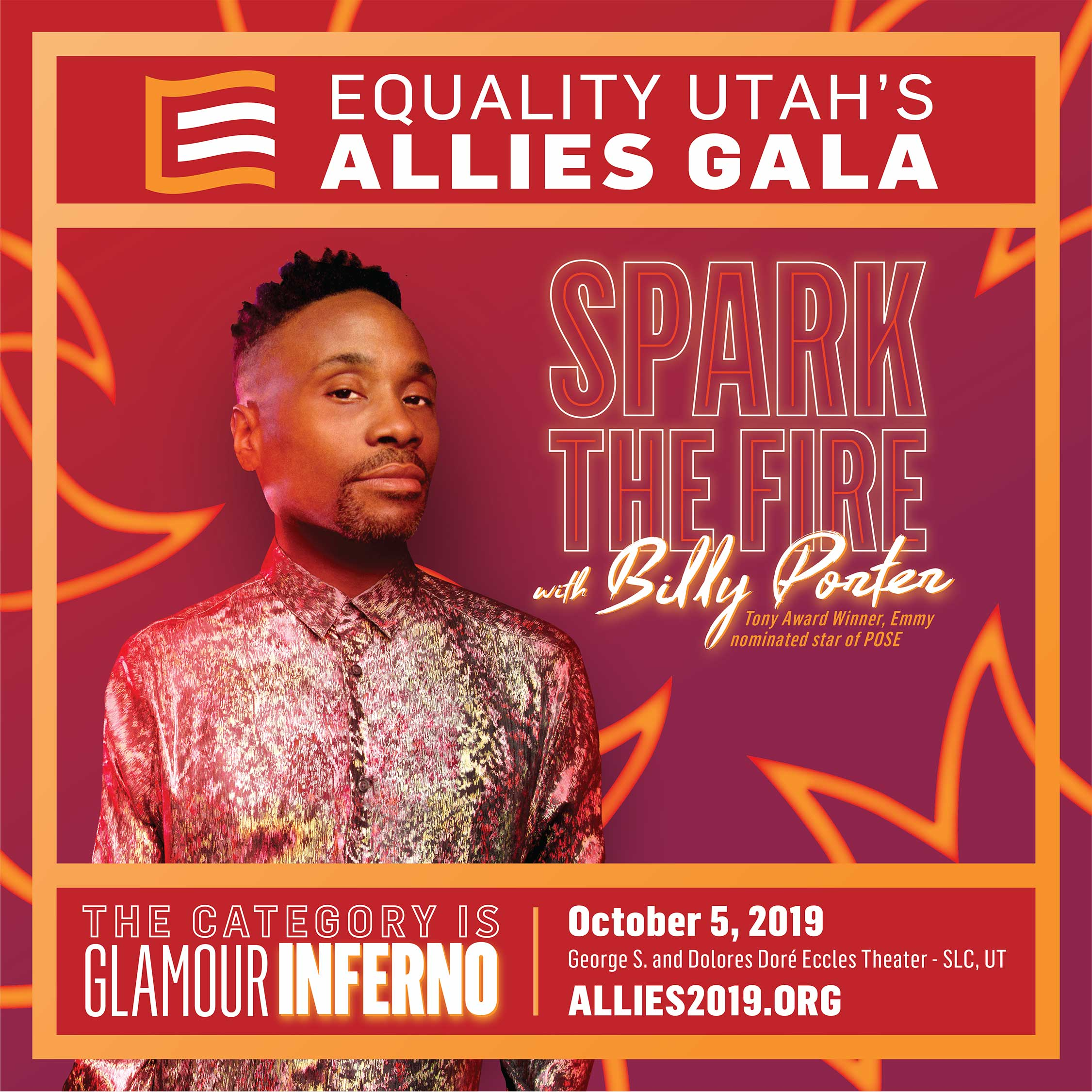2019 Allies Gala featuring Billy Porter poster