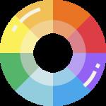 como criar cartao de visita cores