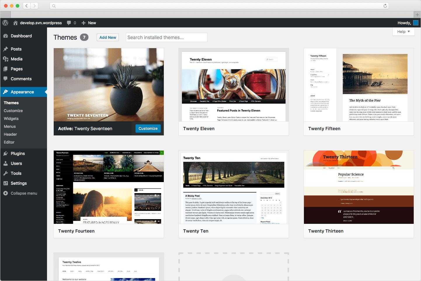 ferramentas de marketing dashboard wordpress