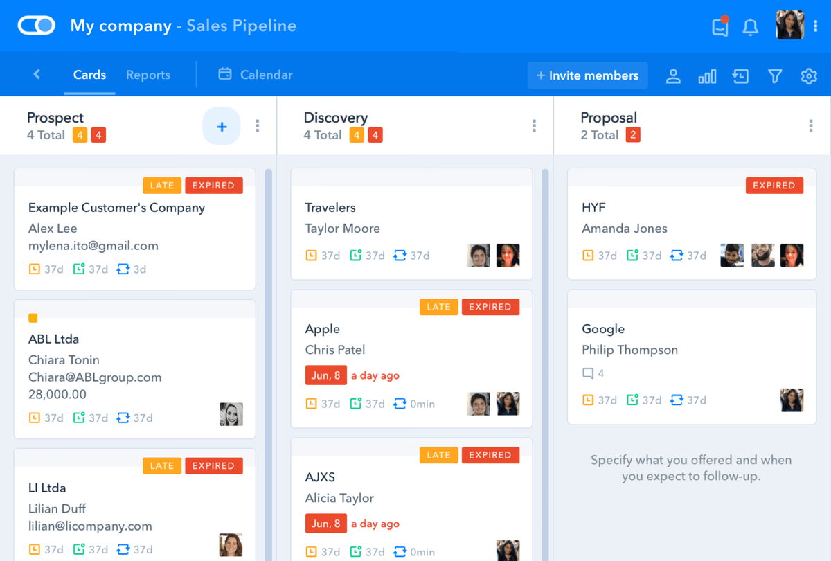 ferramentas de marketing pipefy dashboard