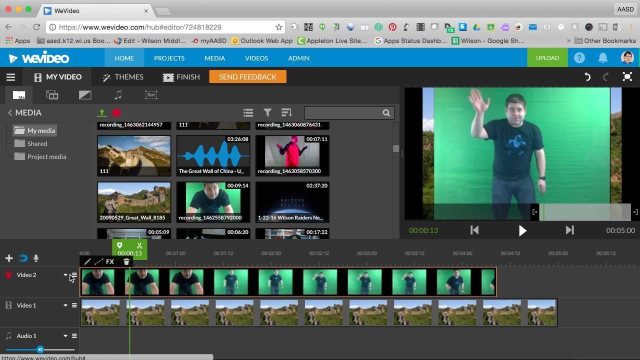 ferramentas de marketing wevideo dashboard