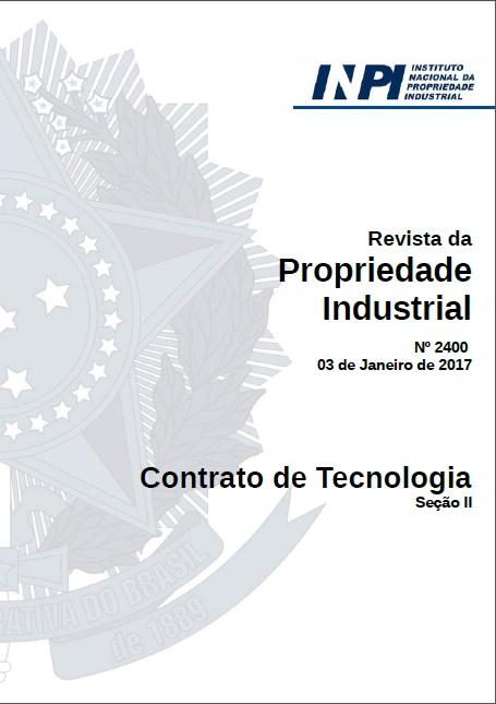 Registro de marca : Revista da Propriedade Industrial