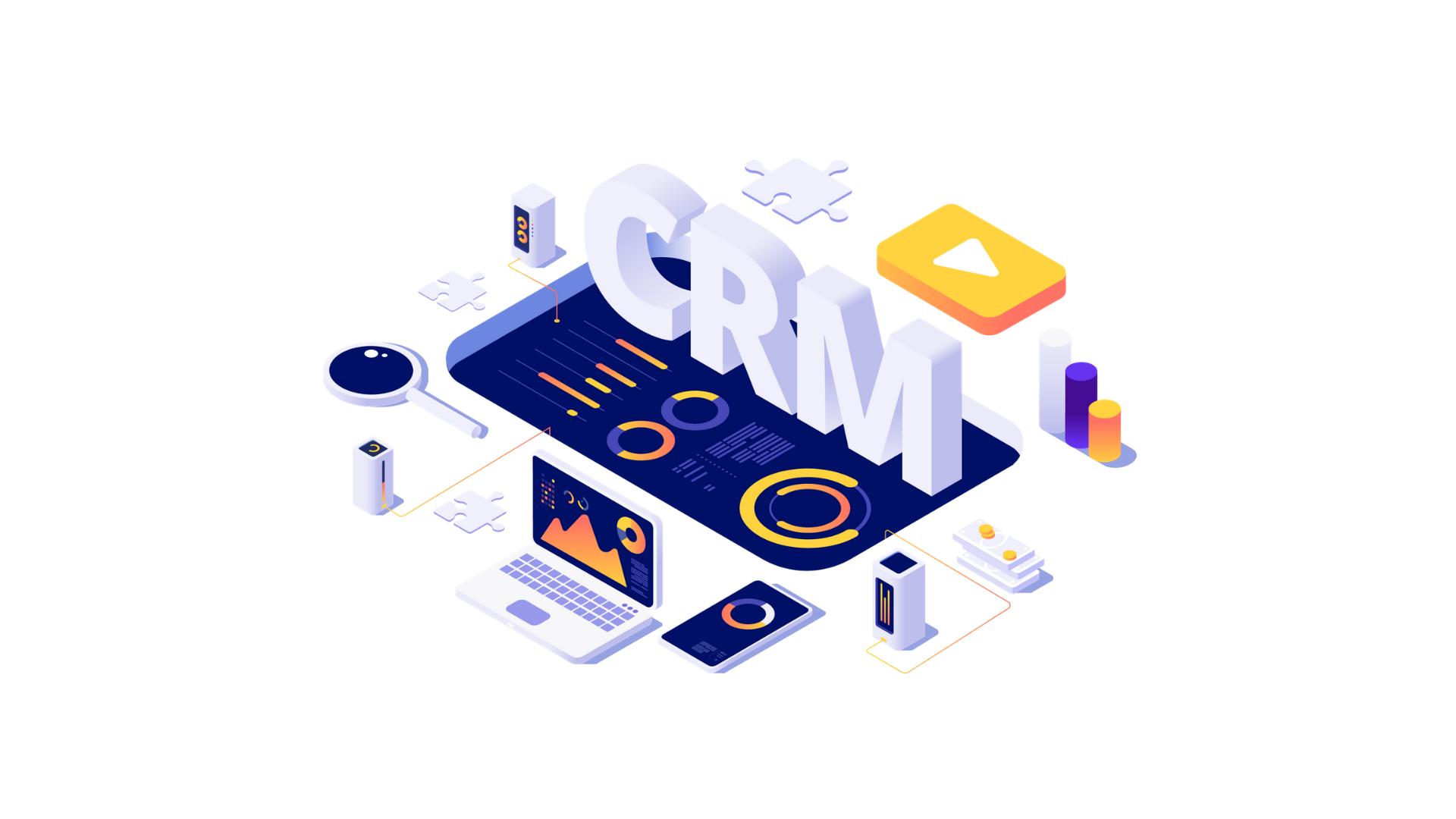 fúnil de vendas CRM