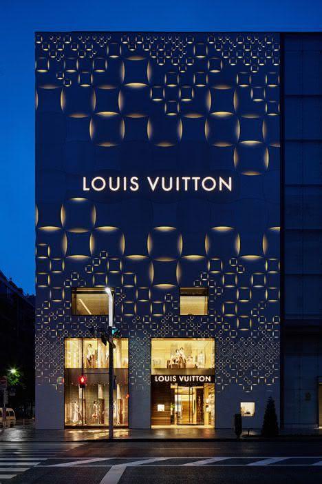 9 Fachada de loja moderna | Louis Vuitton