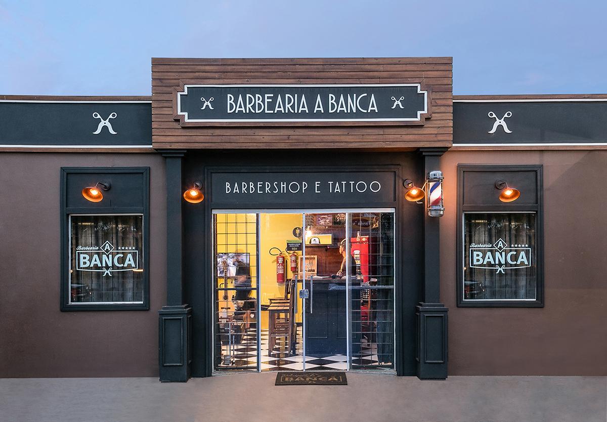 Fachada de loja | Barbearia A Banca