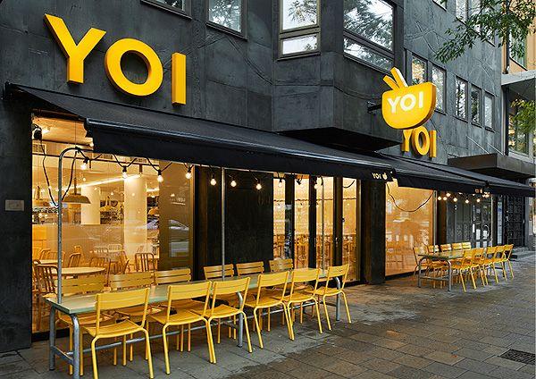 Fachada de restaurante ACM | YOI