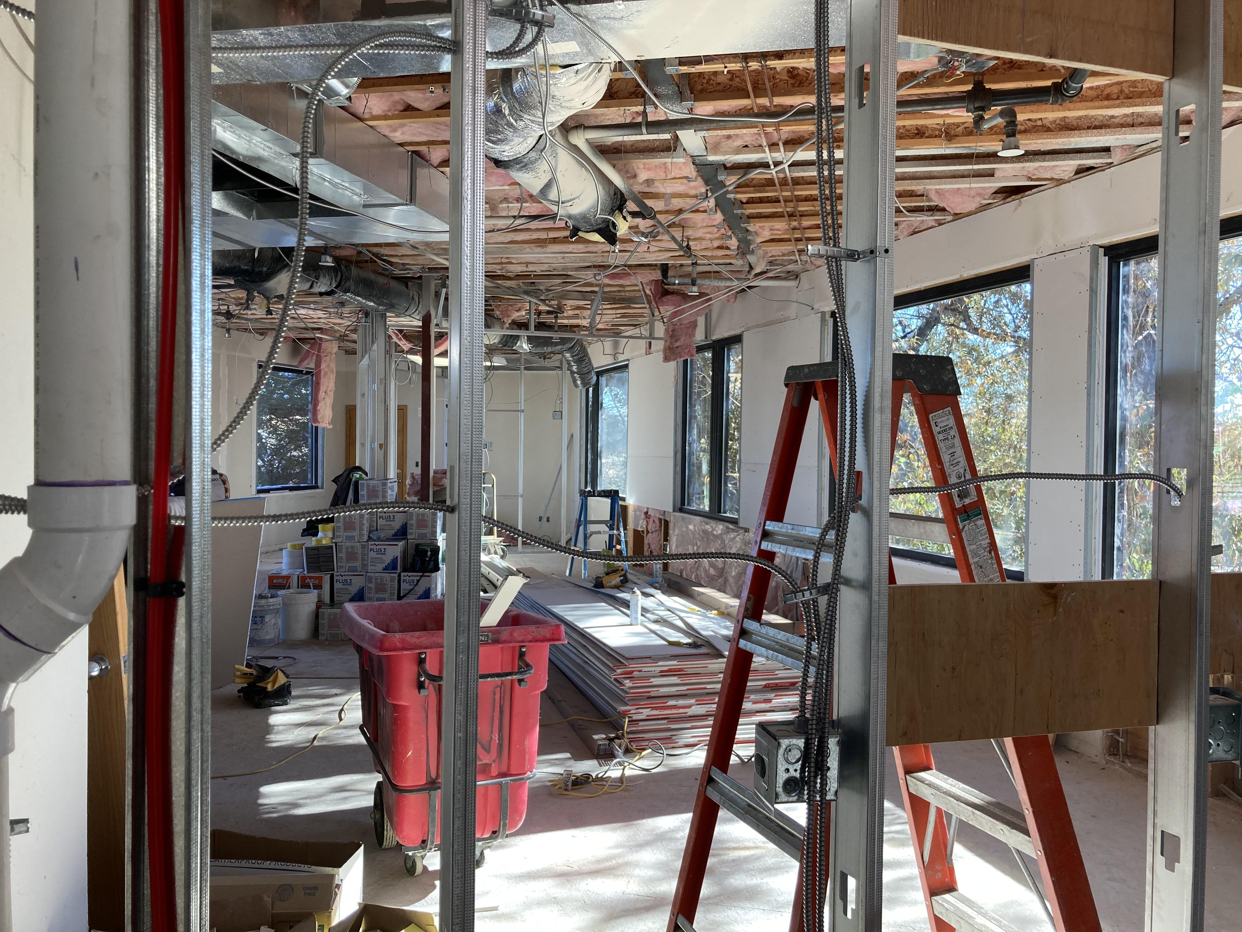 Canard HQ Under Construction