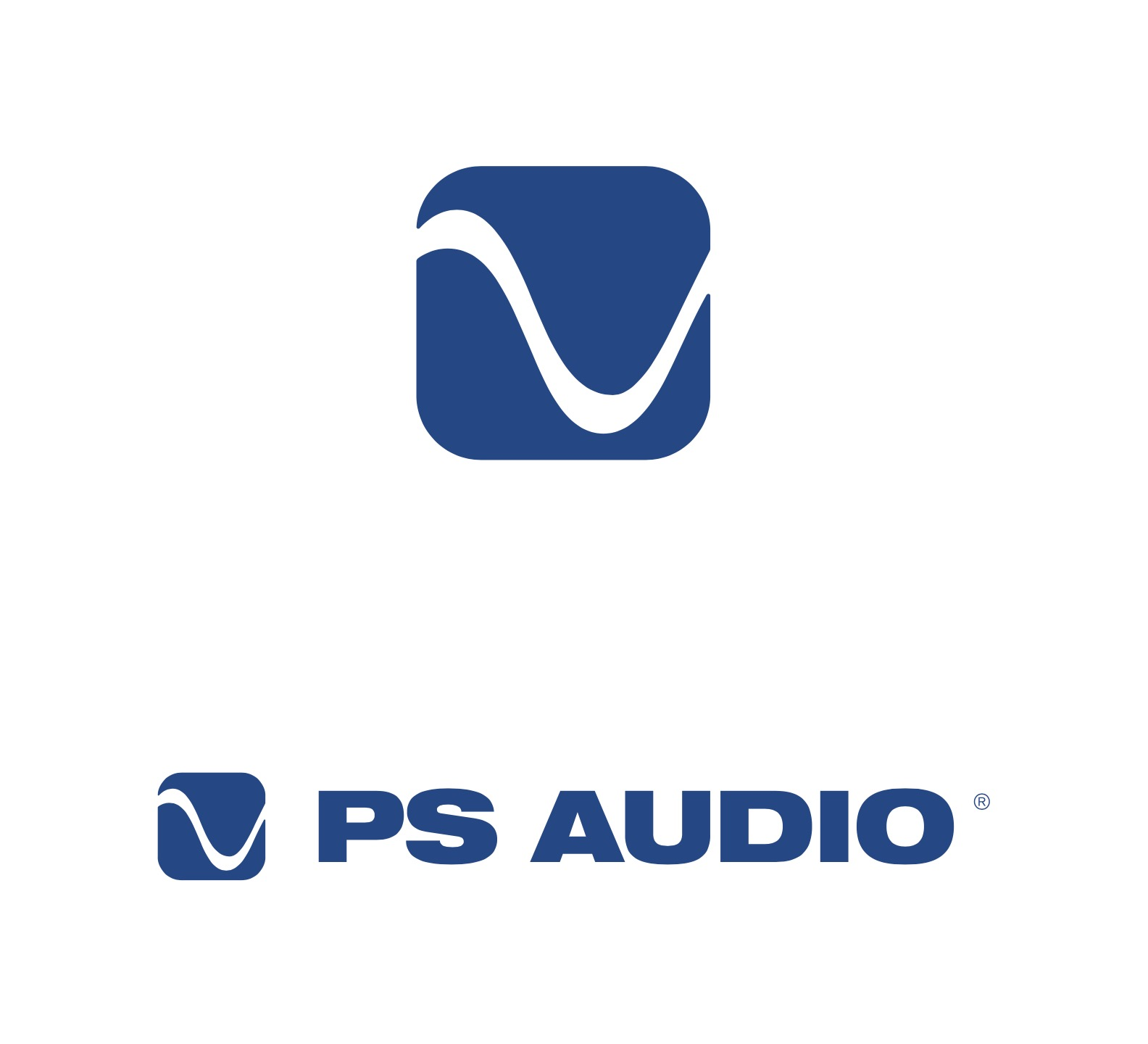 PS Audio New Logo Design