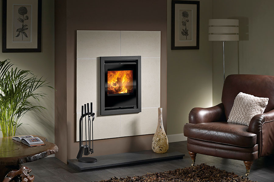 Sirius 450 Inset Multi-Fuel Stove Sussex Fireplace Gallery