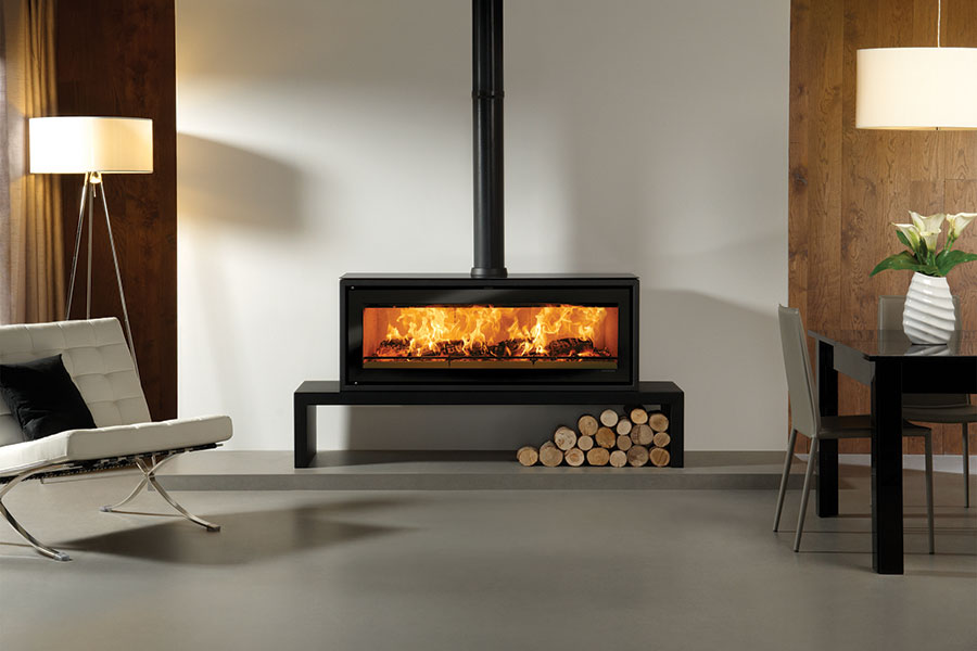 Riva Studio 3 Freestanding at Sussex Fireplace Gallery